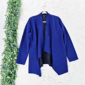 Eileen Fisher Fisher Moto Wool Cardigan Jacket M